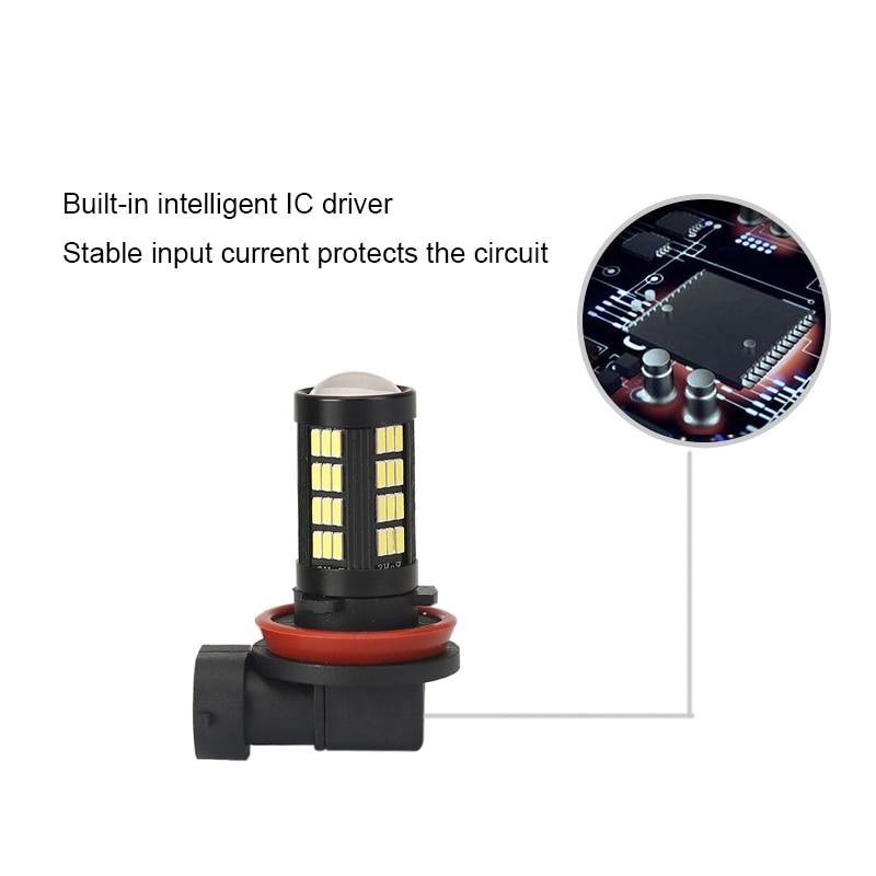 Φωτιστικά αυτοκινήτου 2x H11 H8 - Φώτα αυτοκινήτων - Φωτογραφία 3