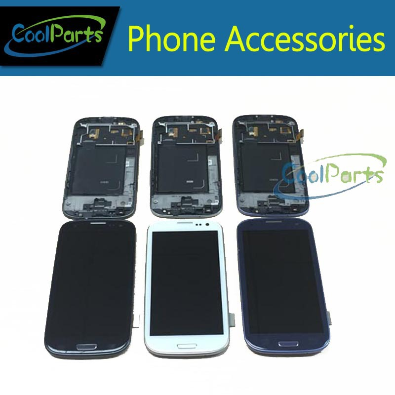3 Colors 1PC Lot For Samsung Galaxy S3 i9300 LCD Display and font b Touch b