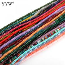 37 Material Hot Sale Nature stone Beads 4x3mm Mixed Gem stone Faceted Loose Beads For Jewelry Making Necklace DIY Bracelet