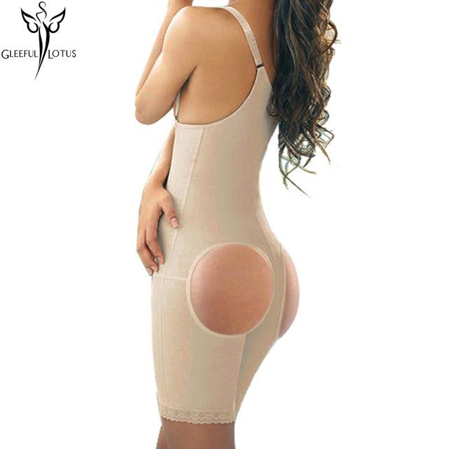 Butt lifter con control de abdomen que adelgaza la correa mujeres cintura Trainer corsé Shaper desgaste de la aptitud de la correa de cuerpo completo corsés Correa carpeta