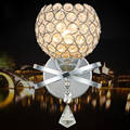 K9 Clear Crystal Lampshade Wall Lights For Home Lighting LED Wall Lamp Crystal Wall Sconce Lamparas De Pared Lustre Verlichting