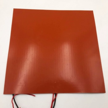 Funssor 24V 300W Square Silicone Rubber Heater Mat 300 x 300mm Reprap 3D printer silicone rubber heating plate mat sheet plate