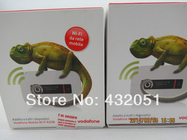 R208 Vodafone Router Wi-fi Móvel
