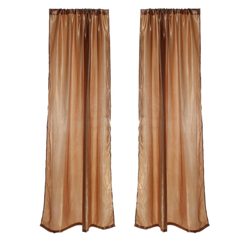 2 stuks raam deur gordijn staaf zak gordijnen blind scheidingswand decoratie goudkleurige gordijn in 2 stuks raam deur gordijn staaf zak gordijnen blind