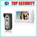 New arrival good quality 7 inch video door phone 420TVL IR night version villa home office door access control video intercom