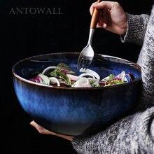Antowall тусклый синий ретро печь глазурь керамическая фруктовая