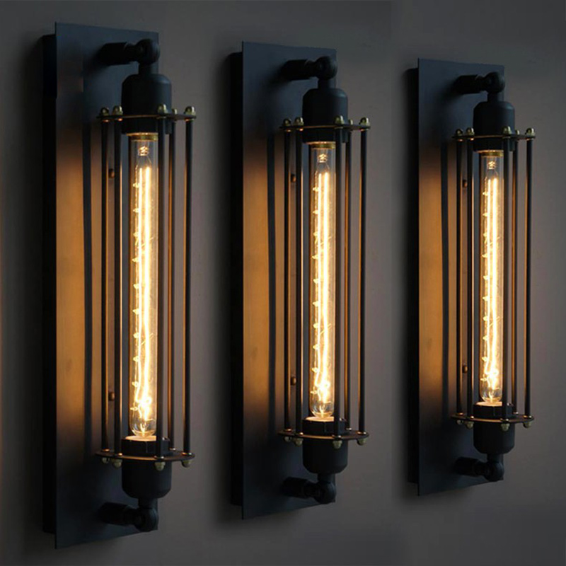 vintage wall lamp industrial wall sconce mirror lights ...
