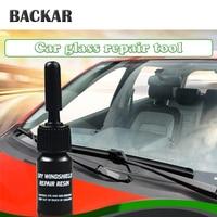 BACKAR Car styling Glasses Windshield Repair Tool Kits Stickers For Citroen c4 Suzuki swift SX4 Volkswagen VW Polo Golf B6 B5 T5