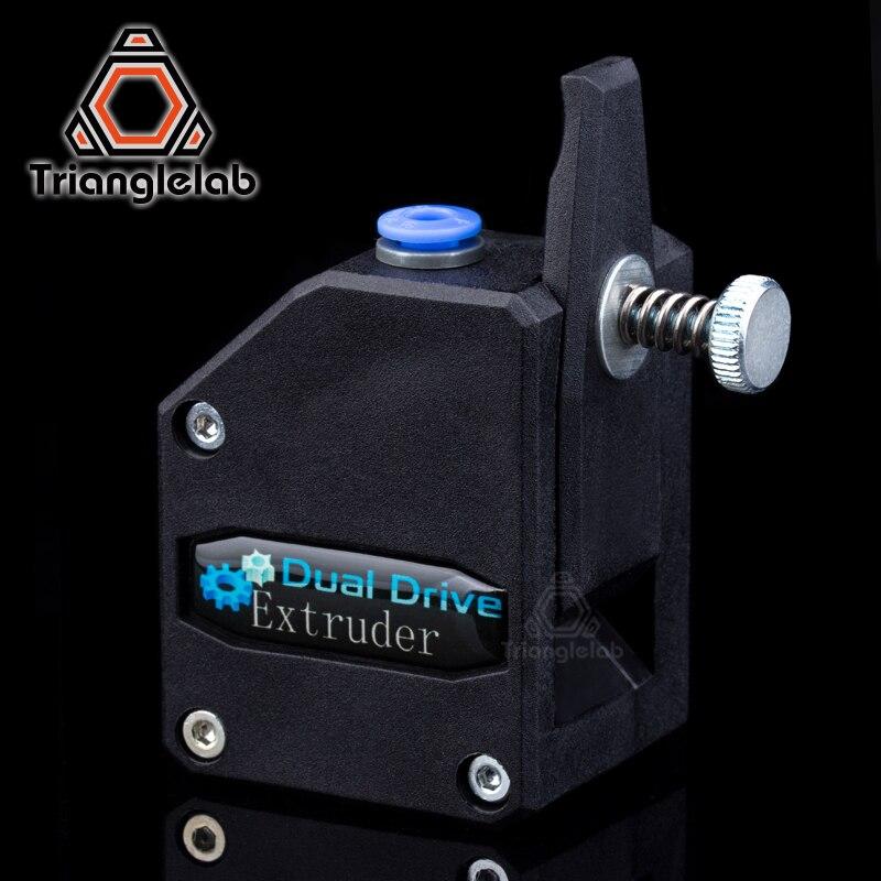 Trianglelab Bowden extrusora BMG extrusora clonado Btech unidad Dual extrusora para 3d impresora de alto rendimiento para 3D impresora MK8