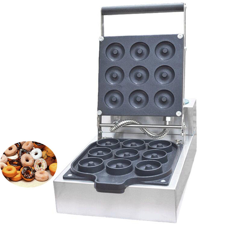 BEIJAMEI hot selling mini doughnut maker machine commercial electric donut waffle making machine price commercial manual donut doughnut maker machine and electric deep fryer