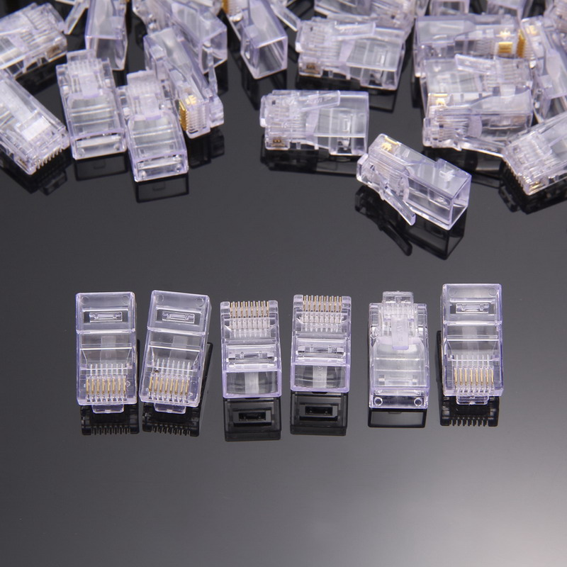 200 PCS/Pack New RJ45 Network 8P8C Modular Plug For use with Stranded/Solid Cat5/Cat5e cables global elementary coursebook with eworkbook pack