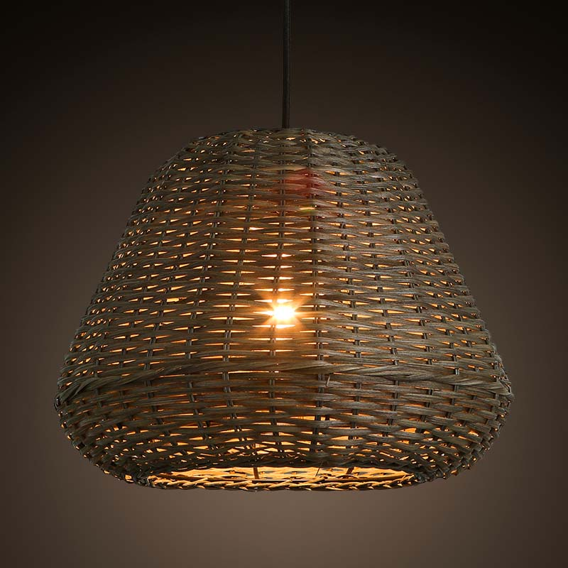 Southeast Asia Vintage Country Chinese Style Bamboo Wicker Rattan Pendant L& Restaurant Teahouse Home Decor Lighting Fixture-in Pendant Lights from Lights ... & Southeast Asia Vintage Country Chinese Style Bamboo Wicker Rattan ...