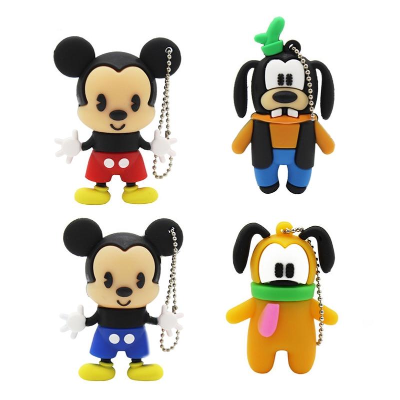 TEXT ME Cartoon Mini Mickey Model 64GB USB Flash Drive 4GB 8GB 16GB 32GB 64GB Pendrive USB 2.0 Usb Stick