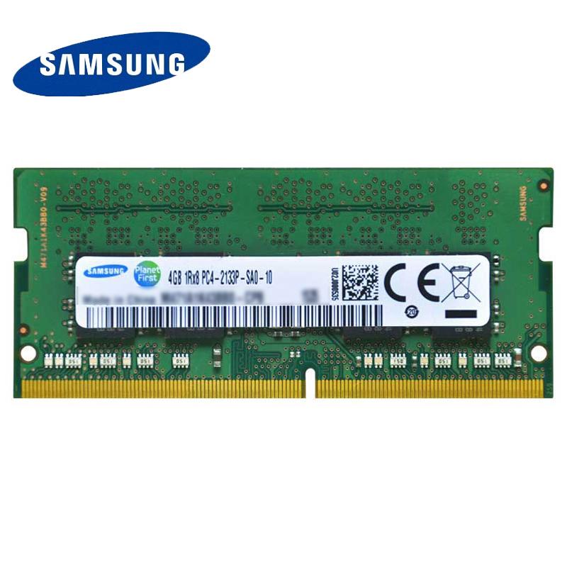 Prix pour Samsung ddr4 4g 8g 16g ordinateur portable mémoire ram 2133 memoria dram bâton pour portable 100% d'origine 4 gb 8 gb 16 gb