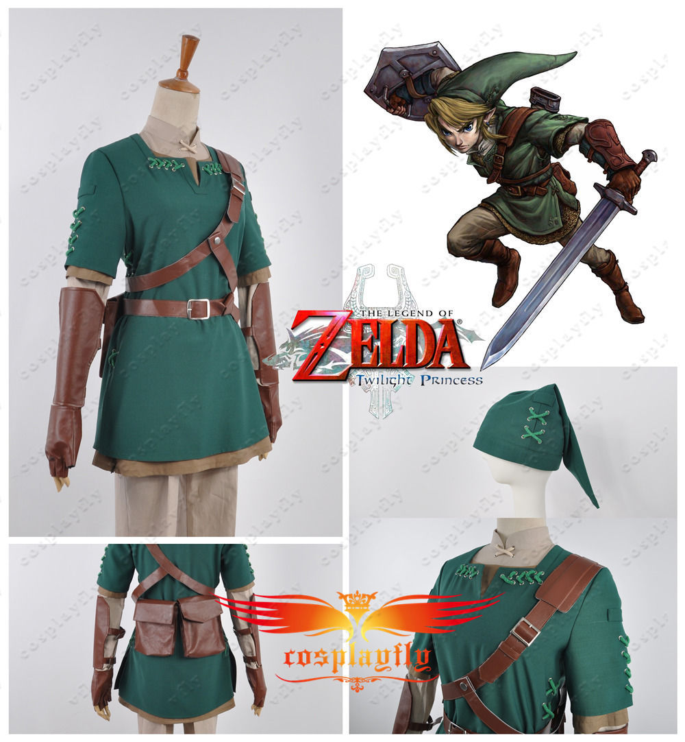 e2327efc8 Aliexpress.com : Buy The Legend of Zelda Link Cosplay Costume Custom Made  H002 from Reliable legend of zelda cosplay suppliers on NewCoser Costume  Store