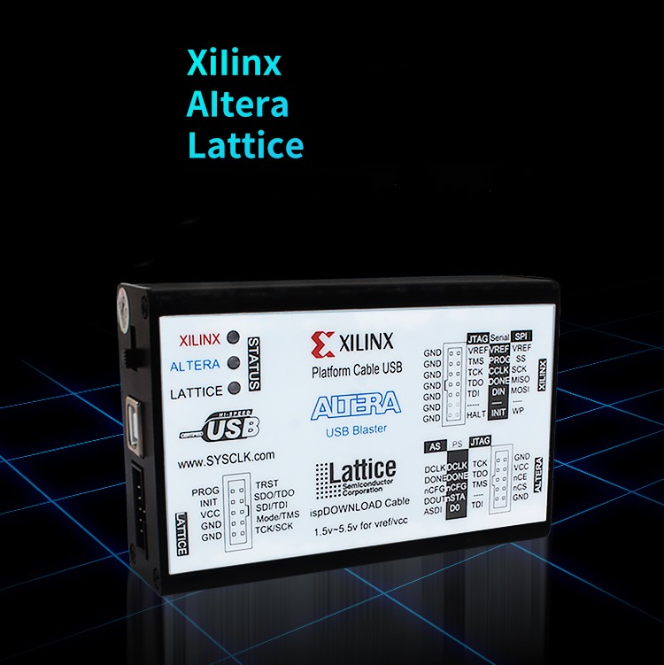 New 1 5 5 5V USB2 0 XILINX ALTERA LATTICE 3IN1 Download Cable CPLD FPGA