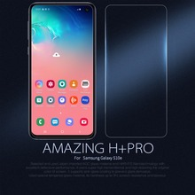 Glass Screen Protector for Samsung Galaxy S10e 10e Lite Nillkin Amazing H+PRO 2.5D HD Clear protective safety glass film цена