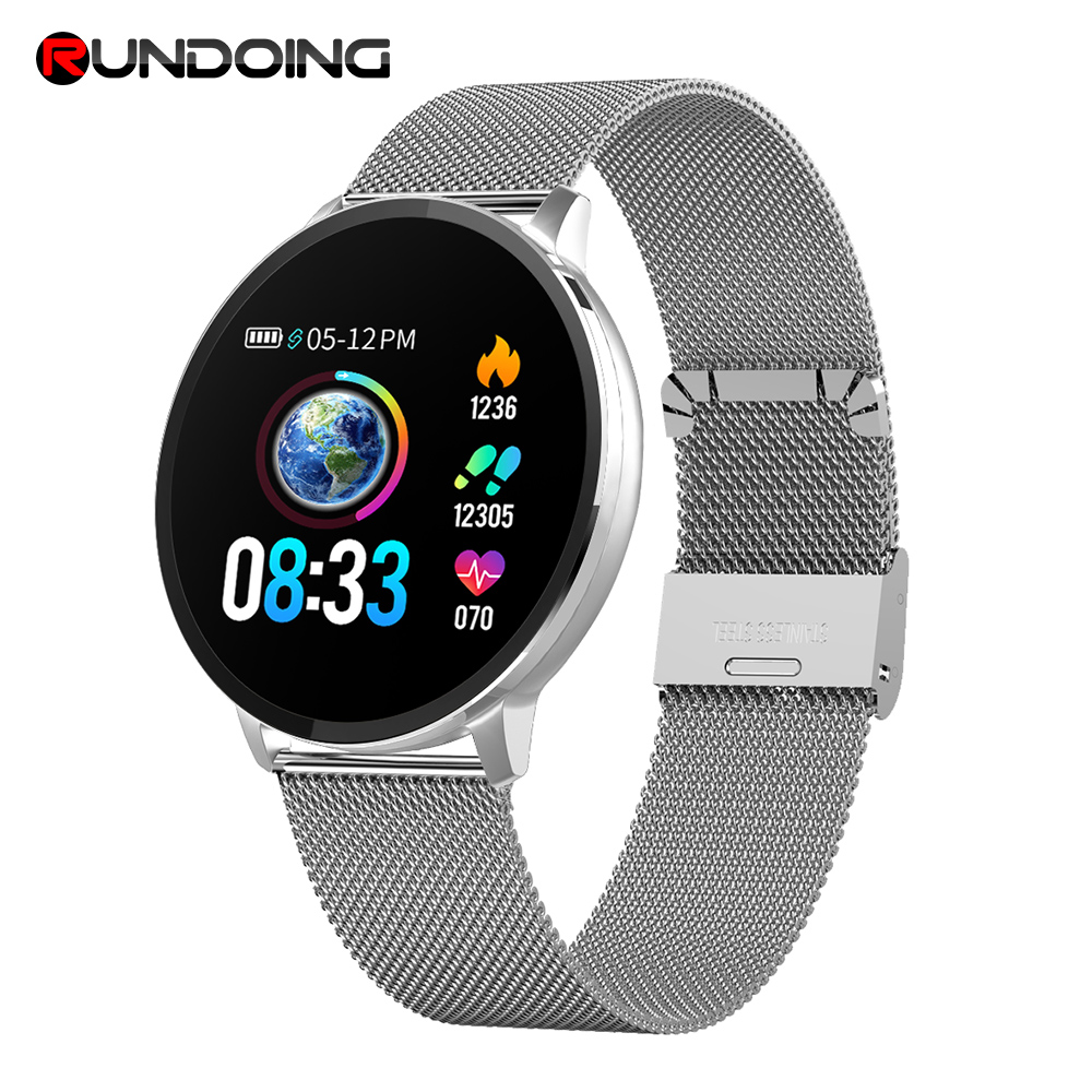 Rundoing NY03 Smart Watch Message call reminder Waterproof Smartwatch Heart rate monitor fashion Fitness Tracker with Hband APP smartfit 3.0 activity tracker