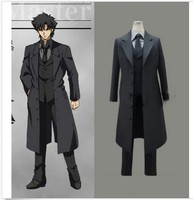 Fate Zero Emiya Kiritsugu Default Suit Cosplay Costume