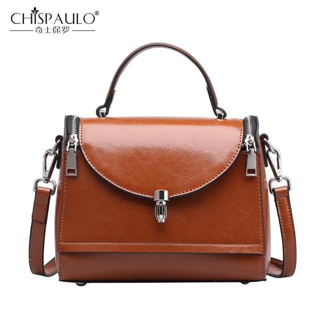 Sacs à Main En Cuir Vintage Messenger Bag Sac à Bandoulière Sac à Main,Style4