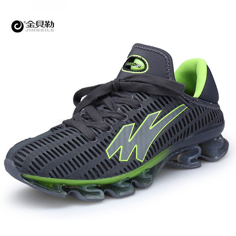 JINBEILE Men's Running Shoes Cushioning Outdoor Sport Men Shoes Athletic Shoes Male plus size 45 46 47 48 Springblade Sneakers male athletic shoes breathable cushioning outdoor sport sneakers men lace up anti skid hunting krasovki zapatilla hiking shoes