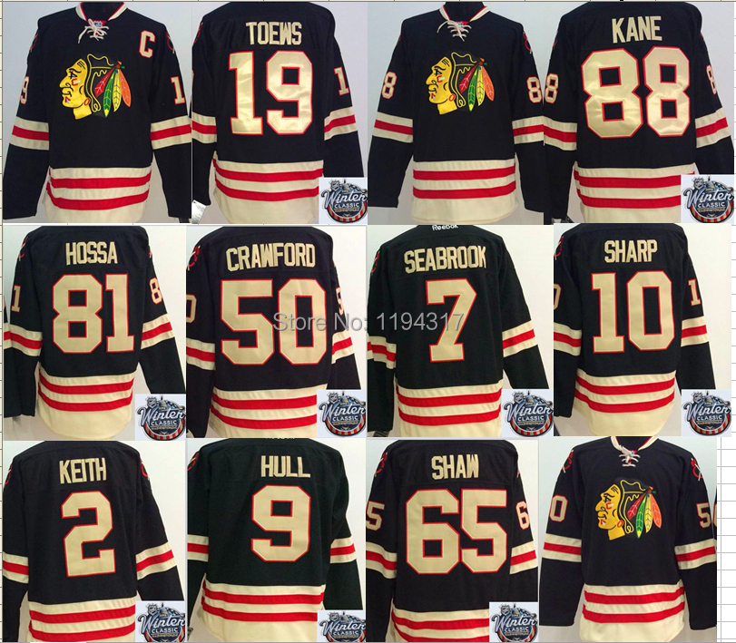 promo code 81587 9d59e 2015 Winter Classic Chicago Blackhawks Jerseys Hockey 88 ...