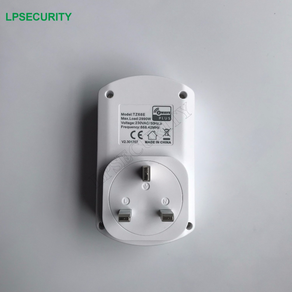 TKB Z Wave on/off socket ,plug in switch TZ68 230V/50Hz EU 868.42MHz/RU 869MHz,for Home appliance Control Module-in Building Automation from Security & Protection    1
