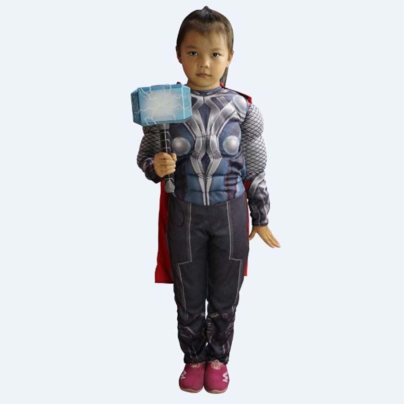 Thor Cosplay The Avengers Costumi Per Bambini giorno Halloween ballo in  maschera di Carnevale di Travestimento Purim prestazione Della Fase di  gioco vestito ... ec7b01cef10