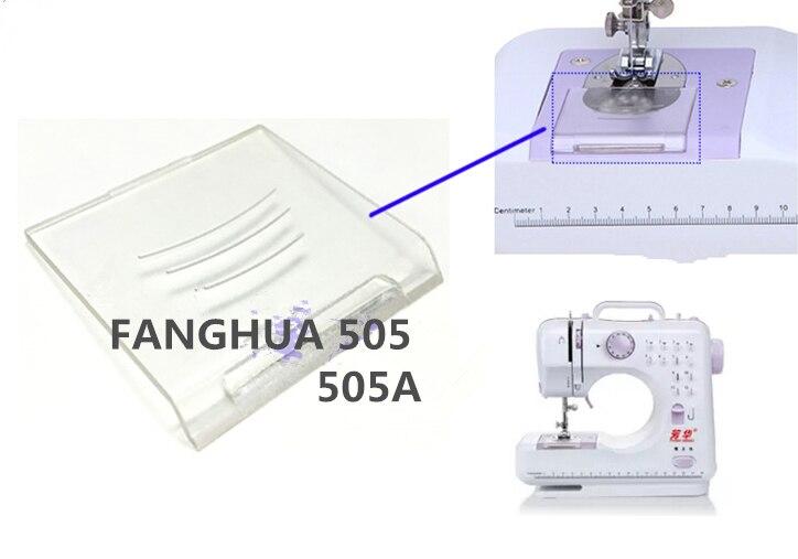 Mini hogar máquina de coser accesorios transparente bobina tapa de ...