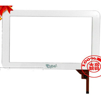 White New For 9 3Q Qoo! Q-pad LC0901D Tablet touch screen Touch panel Digitizer Glass Sensor Replacement Free Shipping