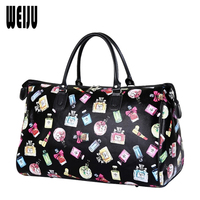 2016 New Women Travel Bags Fashion Luggage Bag Large Waterproof Portable Bag Travel Women PU Leather