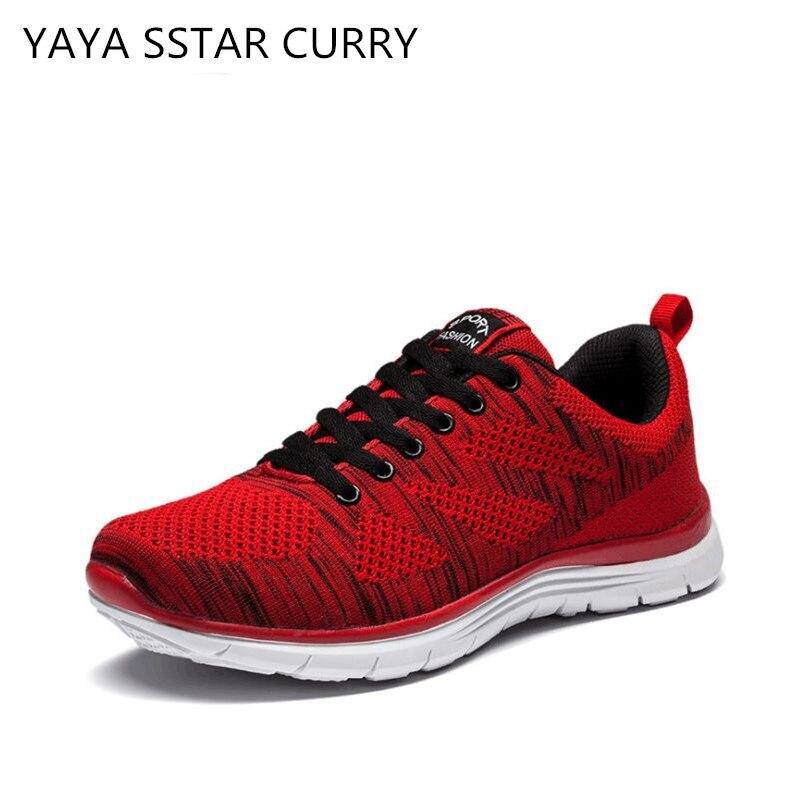 YAYA/звезда Карри Новинка 2017 г. мужские кроссовки дышащие эластичные спортивные туфли дышащие спортивные туфли легкие спортивные туфли