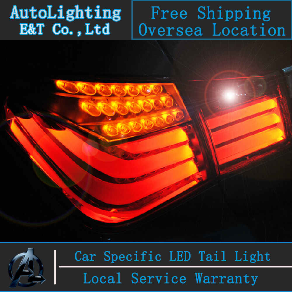 Auto Lighting Style LED Tail Lamp for Chevrolet Cruze led tail lights BMW Design rear trunk lamp cover drl+signal+brake+reverse