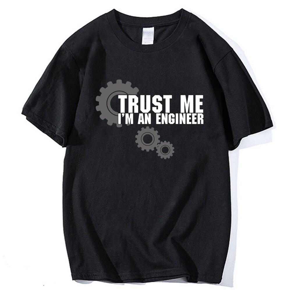 Uomo manica corta t shirt top tees 2018 harajuku Fidati di ME Io sono UN INGEGNERE sportwear cotone Uomo T-Shirt di marca camisetas crossfit
