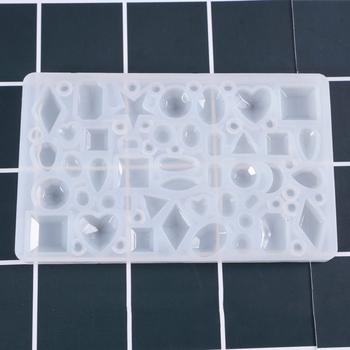 DIY silikonowe wisiorek formy tworzenia biżuterii dla naszyjnik z żywicy formy narzędzie rzemieślnicze XHC88 tanie i dobre opinie 162860