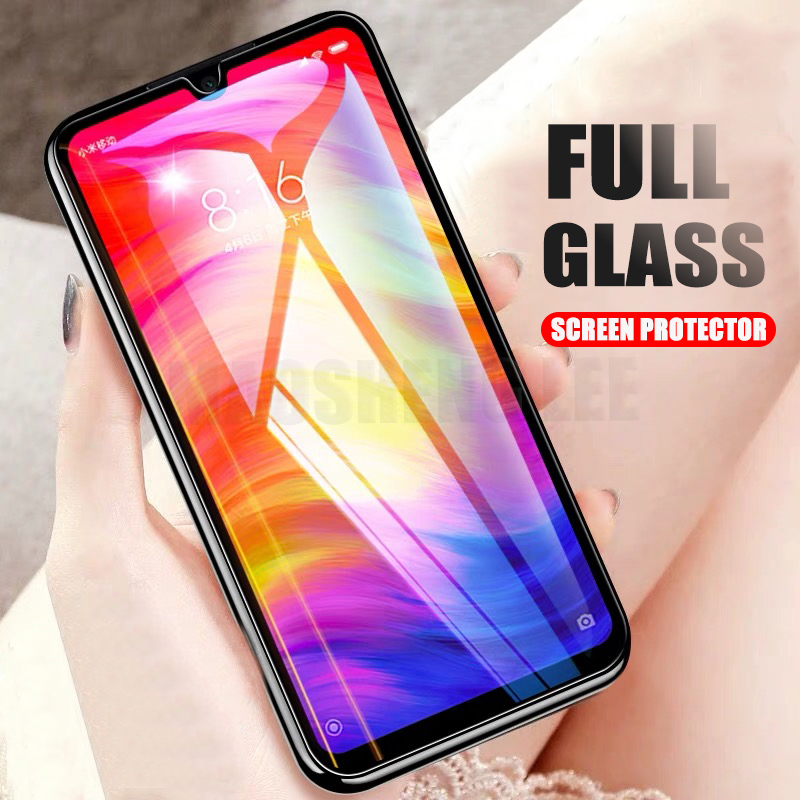 2Pcs/lot Tempered Glass For Xiaomi Redmi Note 7 Pro Glass Screen Protector For Redmi Note 7 Anti Blu-ray Glass Protective Film