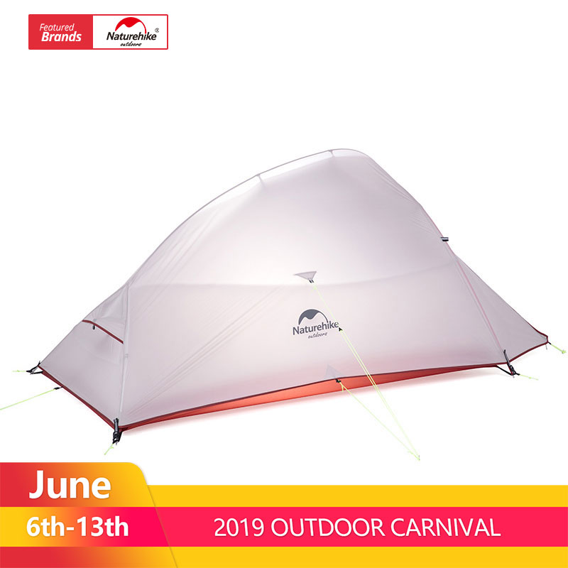 Naturehike Cloud Up Series Ultralight Camping Tent Waterproof Outdoor Hiking Tent 20D Nylon Backpacking Tent With Free MatNaturehike Cloud Up Series Ultralight Camping Tent Waterproof Outdoor Hiking Tent 20D Nylon Backpacking Tent With Free Mat