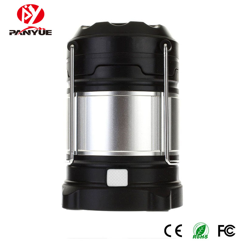 PANYUE Portable LED Camping Lantern Rechargeable USB Power Bank Camping lights 18650 Flashlights Outdoor Tent Lamp