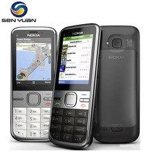 C5 Orijinal Nokia C5-00 Cep Telefonu 3MP/5MP Kamera 3G GPS, Bluetooth, FM Ucuz C5-00 Cep Telefonu