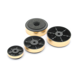 Image 5 - AIYIMA 12Pcs זהב מגבר כרית רגל ספיגת זעזועים דעיכת אזיקי עבור אודיו רמקולים מגבר מכונה רגליים מארז הלם