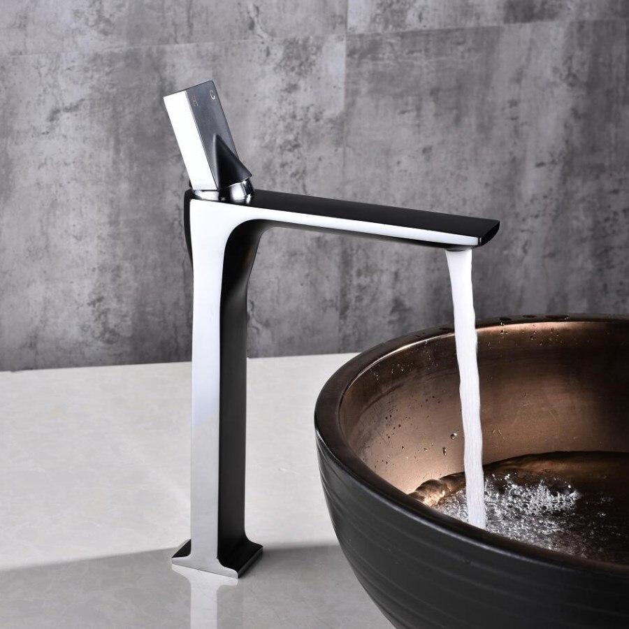 Здесь продается  Supper high quality Tall sink faucet bathroom slim hot and cold basin water mixer tap bathroom single sink faucet free shipping  Строительство и Недвижимость