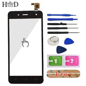 Image 3 - Toque De Vidro Do Telefone móvel Para BQ BQ 5057 5 Greve 2 BQ 5057 Digitador de Vidro Do Painel Frontal Da Tela de Toque Do Sensor ferramentas Adesivo