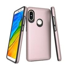 Жесткий ПК Мягкий ТПУ Гибридный чехол для xiaomi Redmi Note 5 Pro ударопрочный задний Чехол для телефона Note 5 Глобальный треугольный узор укрепленный корпус