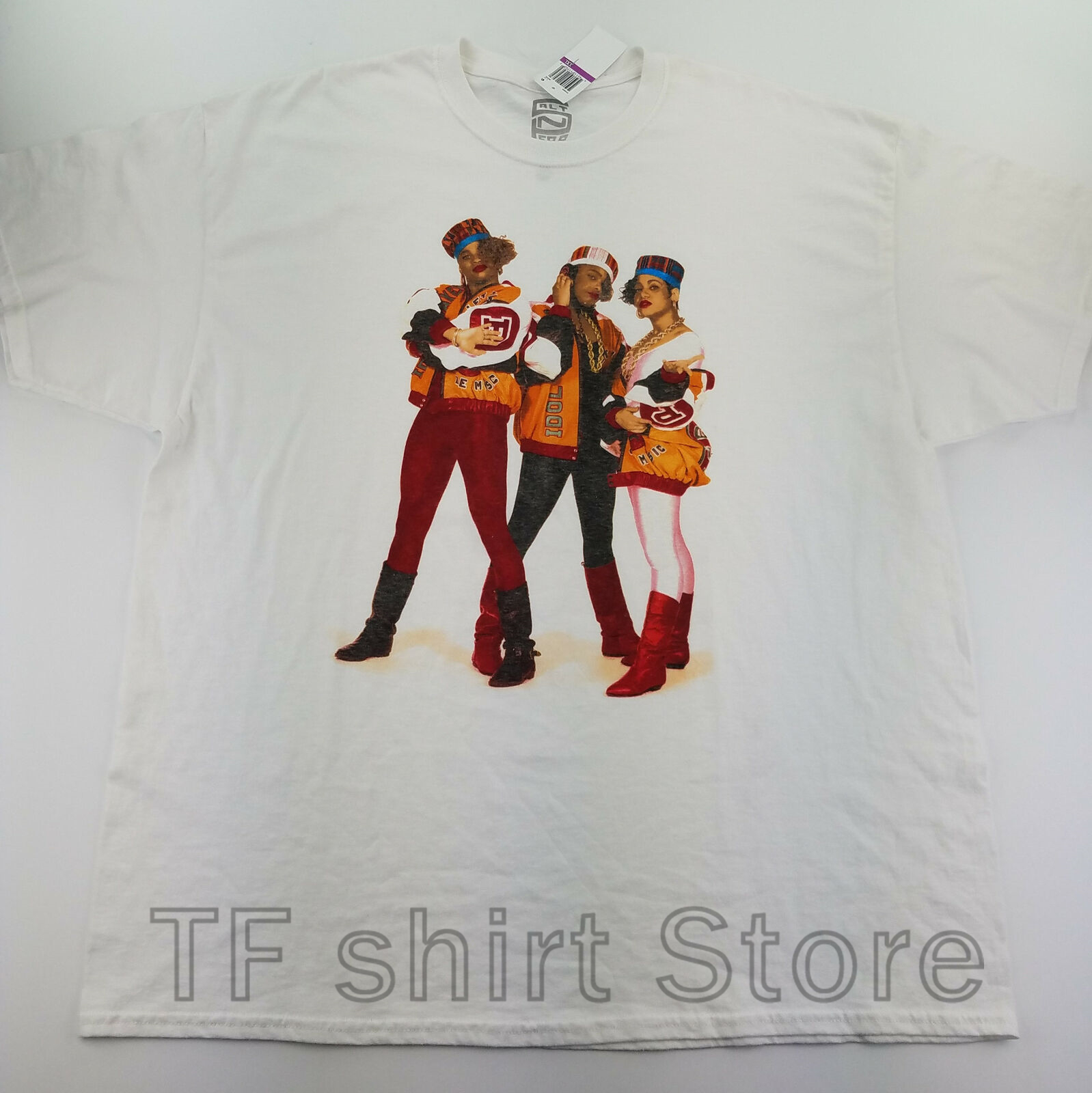 T-shirts Forceful Funny Print Men T Shirt Women Cool Tshirt Salt N Pepa Mens T-shirt 2xl Band Graphic Tee Crew White C18-15