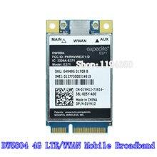 Desbloqueado Sem Fio DW5804 4G LTE/o Acesso Banda Larga Móvel 01YH12 E371 PCI-E WWAN 3G/4G Cartões módulo WLAN Modem WCDMA