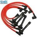 ENVÍO LIBRE-Rey Manera-Spark Plug Wire Set Para HONDA ACCORD CIVIC DEL SOL 92-00 EG EK EJ D15/D16 HD9002
