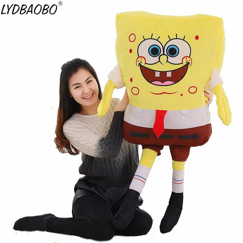 1 stück 40/50 cm Nette Kawaii Baby Spielzeug Spongebob Patrick Star Plüsch Spielzeug Cartoon Weiche Tier Kissen Puppen kinder Kinder Geburtstag Geschenke