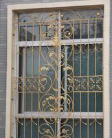 Ferforje çelik cam pencere, metal cam pencere ferforje windowswindow demir pencere ızgara tasarımı hc-w26