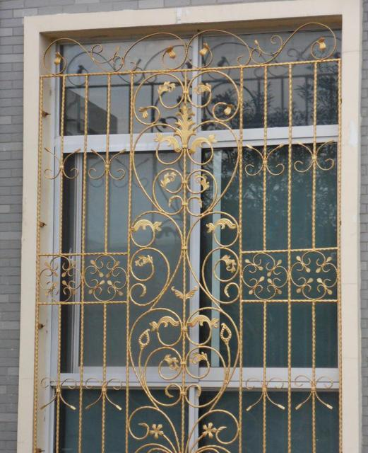 Superb Wrought Iron Steel Glass Window,metal Glass Window Wrought Iron  Windowswindow Iron Window Grill Design