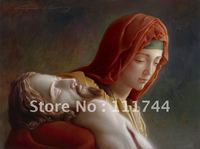 Painting Of Jesus Christ Oil Painting Portrait The Pieta By Joseph Brickey Painting High Quality 100